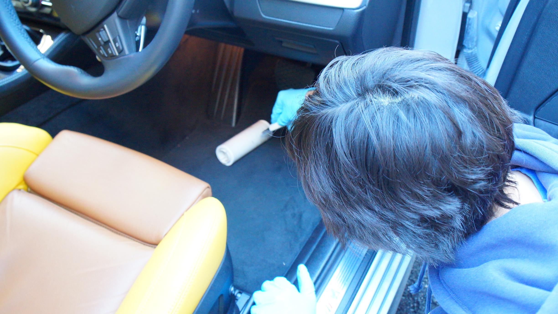 車内清掃2