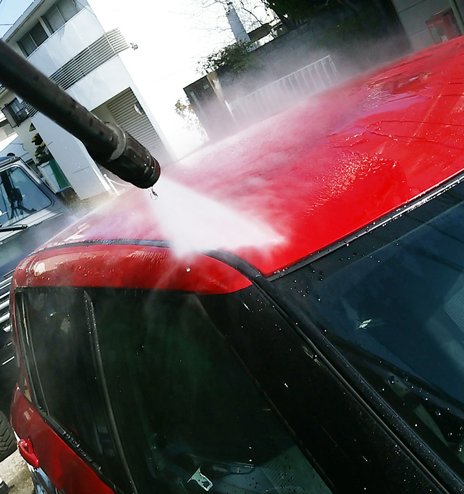 洗車サービスについて