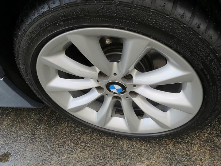 BMW320ホイール表仕上げ