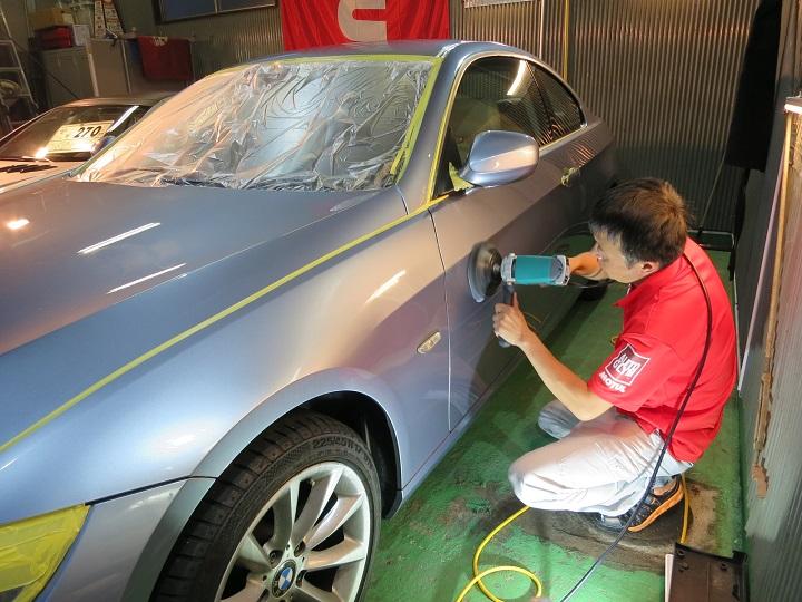 BMW320ポリッシャー②