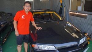 GT-Rの洗車